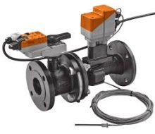 Electronic pressure-independent characterised control valves (EPIV) - Flange